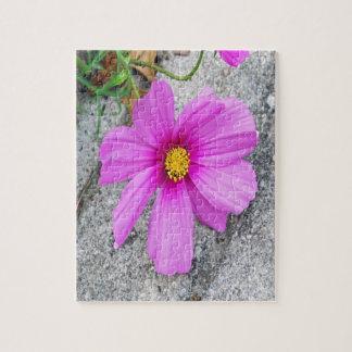 感動的な引用文のラベンダーの花 ジグソーパズル