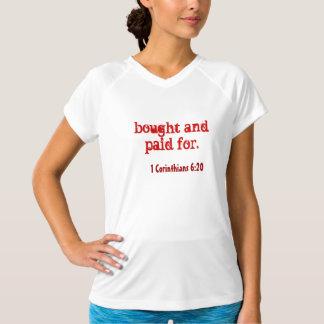 感動的な引用文 Tシャツ