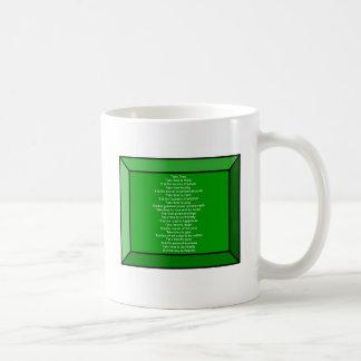 感動的な詩 コーヒーマグカップ