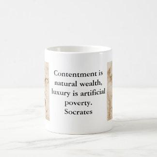 感動的なSocratesの引用文 コーヒーマグカップ