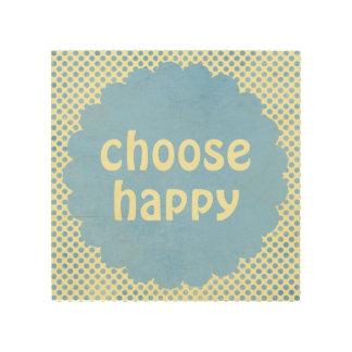 感動的幸せな引用文の断言を選んで下さい ウッドウォールアート