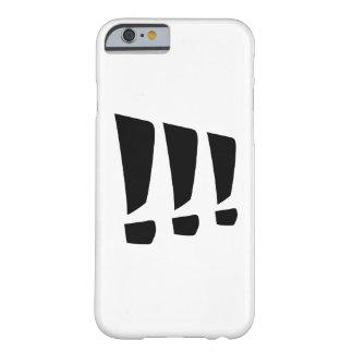 感嘆符 BARELY THERE iPhone 6 ケース