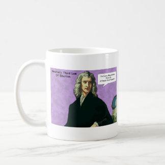 感情のマグのアイザックNewtons Third Law コーヒーマグカップ