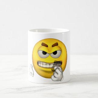 感情の人-歯のマグを暴露すること コーヒーマグカップ