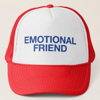 感情的な友人のおもしろいのスローガンのトラック運転手の帽子 キャップ