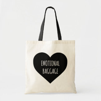 感情的な手荷物のハートの戦闘状況表示板 トートバッグ