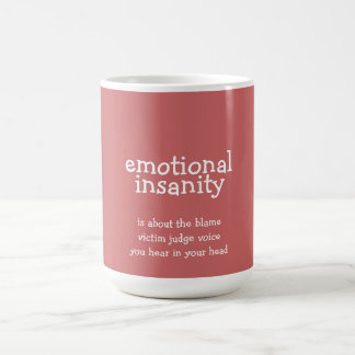 感情的な精神異常 コーヒーマグカップ