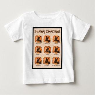 感情-黒 ベビーTシャツ