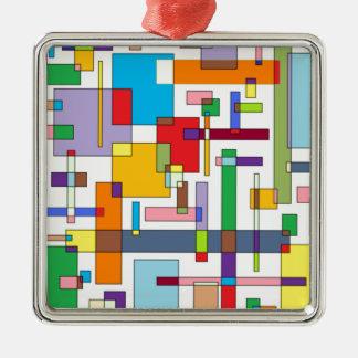 感情Iの色-色の芸術 メタルオーナメント