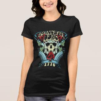 感謝した鉛-第2修正1776年-は青衰退します Tシャツ