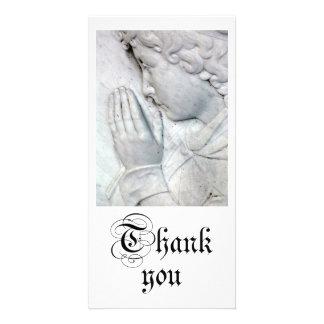 感謝していして下さい| 写真カード