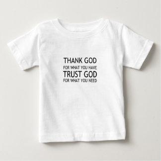 感謝していして下さい ベビーTシャツ