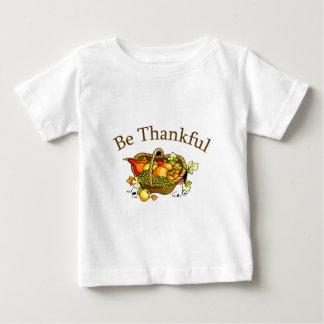 感謝していて下さいあって下さい ベビーTシャツ