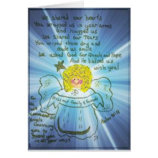 感謝している天使 カード