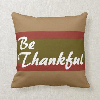 感謝している枕があって下さい クッション