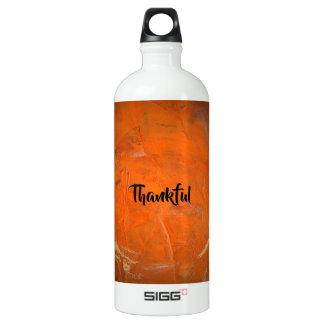 感謝している艶をかけられたテラコッタ ウォーターボトル