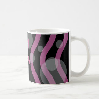 感謝にピンクの休暇の季節のパーティーを与えます コーヒーマグカップ