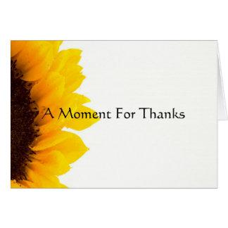 感謝のための時 カード