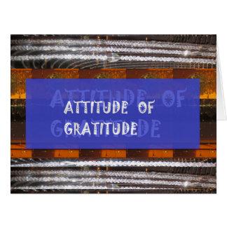 感謝の態度 カード