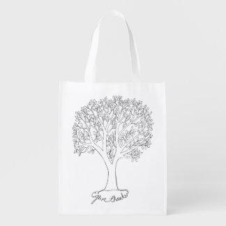 感謝の木を与えて下さい エコバッグ