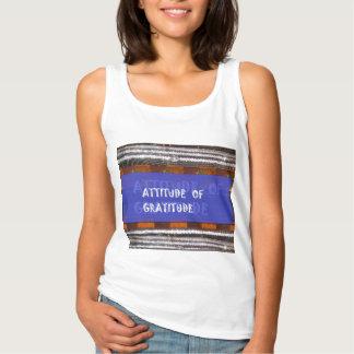 感謝の販売のワイシャツのフード付きスウェットシャツのジャージーの態度 タンクトップ