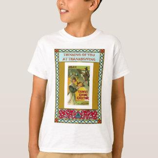 感謝祭のあなたの考えること Tシャツ