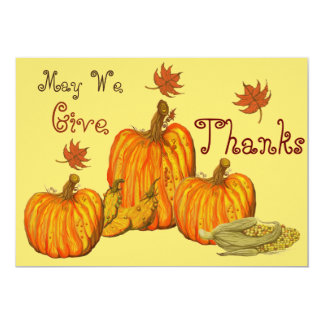 感謝祭のお祝い カード