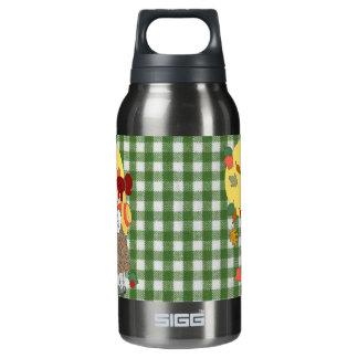 感謝祭のギンガム 断熱ウォーターボトル