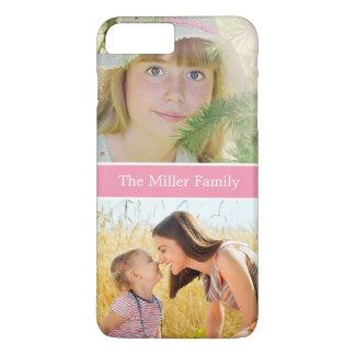 感謝祭のクリスマスの誕生日プレゼントの家族写真 iPhone 8 PLUS/7 PLUSケース
