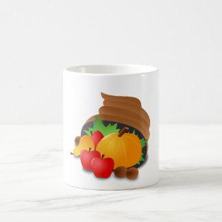 感謝祭のコルヌコピア コーヒーマグカップ