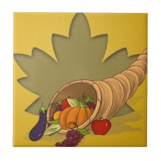 感謝祭のコルヌコピア タイル