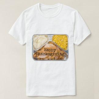 感謝祭のテレビディナーのTシャツ Tシャツ