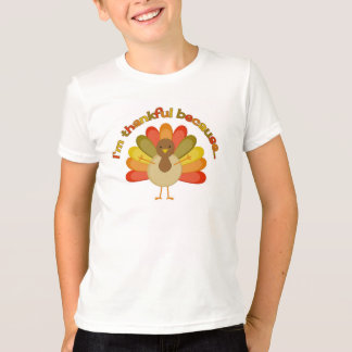 感謝祭のトルコのお兄さんの発表のワイシャツ Tシャツ