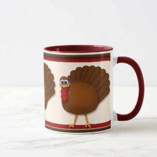 感謝祭のトルコのマグ マグカップ
