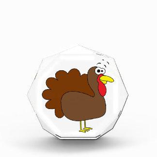 感謝祭のトルコの微笑のGobbler 表彰盾