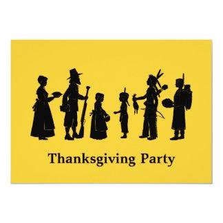 感謝祭のパーティー カード