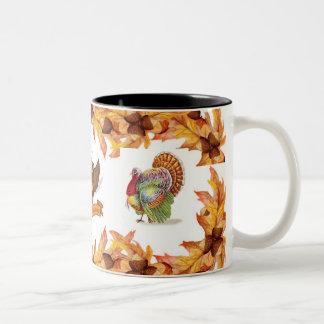 感謝祭のマグ ツートーンマグカップ