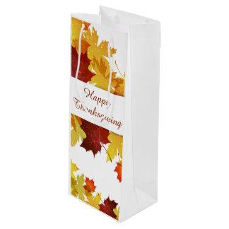 感謝祭のワインのギフトバッグ ワインギフトバッグ