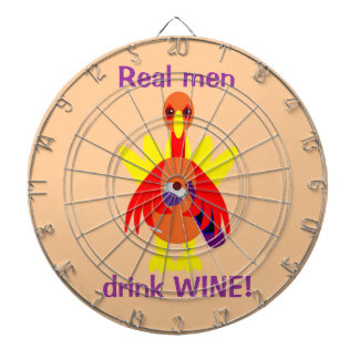 感謝祭のワイントルコ飲むこと ダーツボード