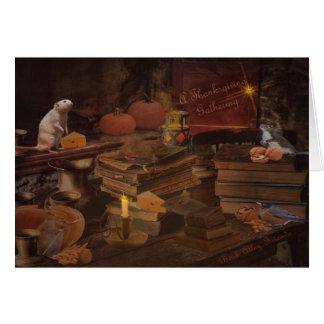 感謝祭の収集 カード