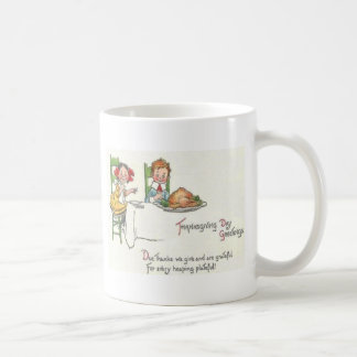 感謝祭の夕食 コーヒーマグカップ