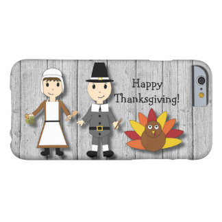 感謝祭の巡礼者およびトルコのiPhone6ケース Barely There iPhone 6 ケース