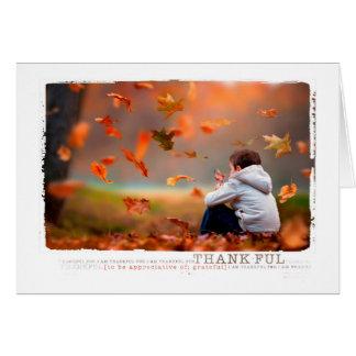 感謝祭の挨拶 カード