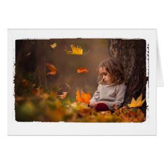 感謝祭の挨拶 グリーティングカード