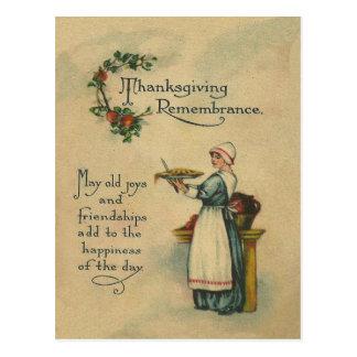 感謝祭の記憶 ポストカード