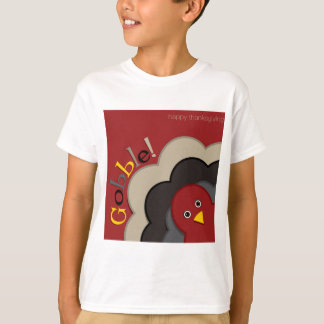 感謝祭の隠れる七面鳥 Tシャツ