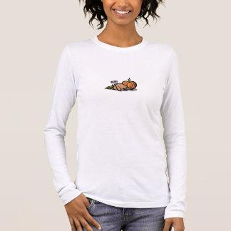 感謝祭のTシャツ 長袖Tシャツ
