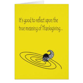 感謝祭カード カード