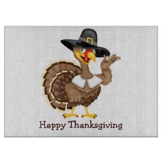 感謝祭トルコ カッティングボード