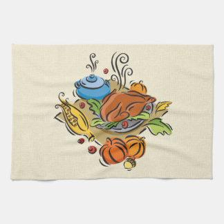 感謝祭トルコ キッチンタオル
